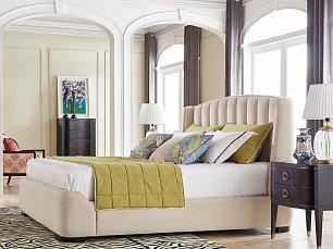 Модена спальня вишня глянец