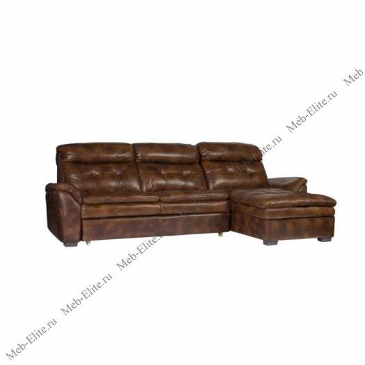 Франкфурт диван угловой  3169 A шоколад У-Г