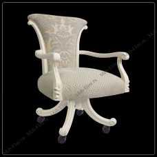 Карпентер 230 кресло рабочее  белое (LS418-1/LS419-1 ткань)