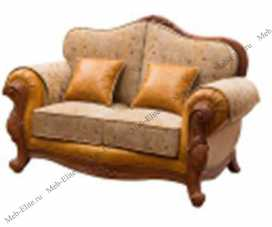 Карпентер 230-1  диван С 2 местный  (Орех, ткань ST9-4)