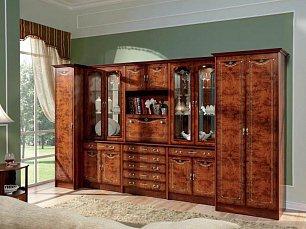 Рим гостиная комплект: стенка R62+шкаф R46+шкаф R45 радика