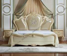Белый Цветок кровать 180х200 9908-А
