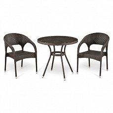 Комплект мебели  2+1 Т283ANT/ Y90С-W51-2PCS иск. ротанг