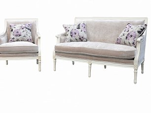 Белая роза мягкая мебель 2+1+1