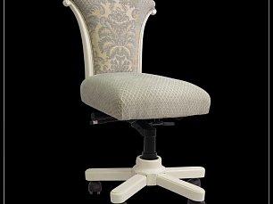 Карпентер 230  стул вращающийся с подлокотниками (Слоновая кость,  ткань 603-10A/603-10C)