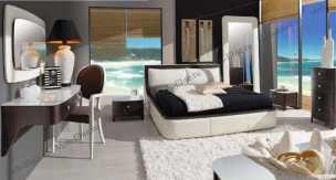 Босса Нова спальня комплект: кровать 160+2 тумбы прикроватные+комод+зеркало