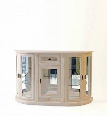 Милан комод 5-дверный стеклянный 8 позитано