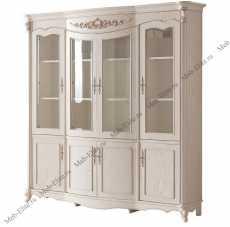 Карпентер 230 шкаф книжный 4 дверный