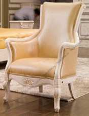 Карпентер 230 кресло чайное (кожа A008)