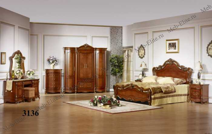 Виктория МК спальня орех