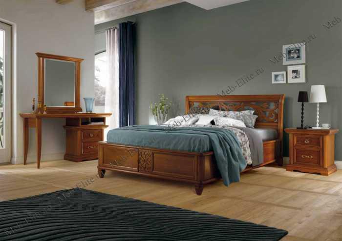 Жиневра спальня орех
