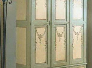 Розы (Примавера) шкаф 3 дверный