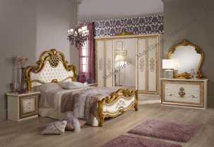 Анита спальня комплект: кровать 160, тумба -2шт, шкаф 6-ти дв