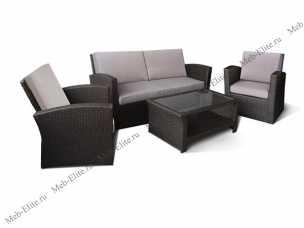 Комплект мебели (иск.ротанг) 2+1+1 AFM-2050