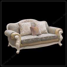 Карпентер 230 диван С 2 местный (ткань  LS418-1/LS419-1)