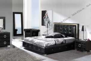 Коко 624 спальня Дюпен черный
