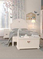 Аделина спальня белая