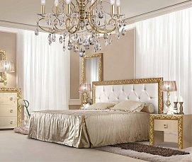 Тиффани Премиум спальня штрих-золото глянец