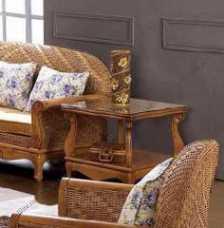Мик ротанг чайный столик 70х70 МК-3446