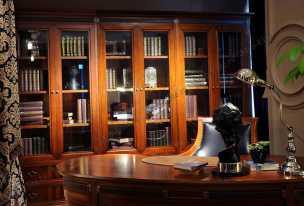 Кембридж шкаф книжный 2+2+2