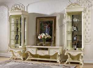 Роял гостиная слоновая кость+золото