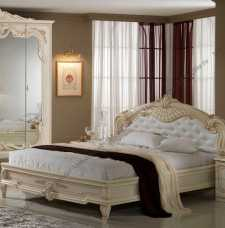 Диана кровать без основания 160х200 беж