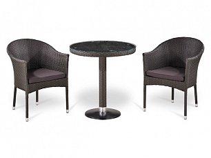 Комплект мебели 2+1 Т504/ Y350W-W2390 иск. ротанг
