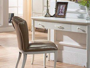 Карпентер 309 кресло к туалетному столику (кожа) слоновая кость