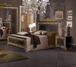 Катя кровать 180х200 черный