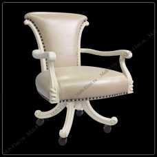 Карпентер 230  стул вращающийся с подлокотниками (кожа А008/ПВХ)