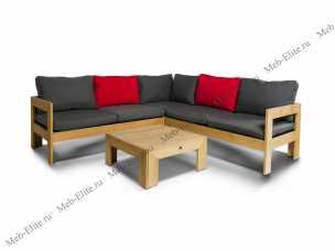 Ротанг Лавиньо комплект:угловой модуль+стол кофейный+правый модуль+левый модуль