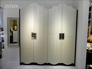 Хемис шкаф 4 дверный 7078 шампань глянец