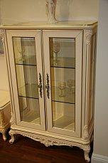 Аврора витрина 2 дверная низкая