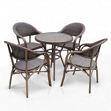 Комплект мебели 4+1 А1007- D2003SR-4PCS иск. ротанг