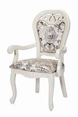 Классика стул с подлокотниками 8088 белый