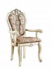 Классика стул с подлокотниками 6380 белый