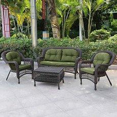 Комплект мебели 2+1+3 LV520GG иск. ротанг