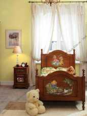 Французкие мотивы тумба прикроватная детская (орех)