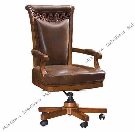 Карпентер 230-1 стул кабинетный (кожа TP-3/ПВХ)