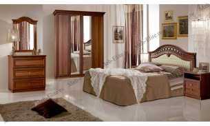 Европа 7 спальня ноче глянец
