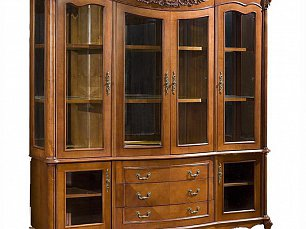 Витрина с 4-мя стеклянными дверцами Карпентер 230-1