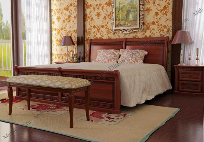 Милан спальня орех