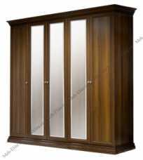 Амели шкаф 5 дверный с зеркалами ноче