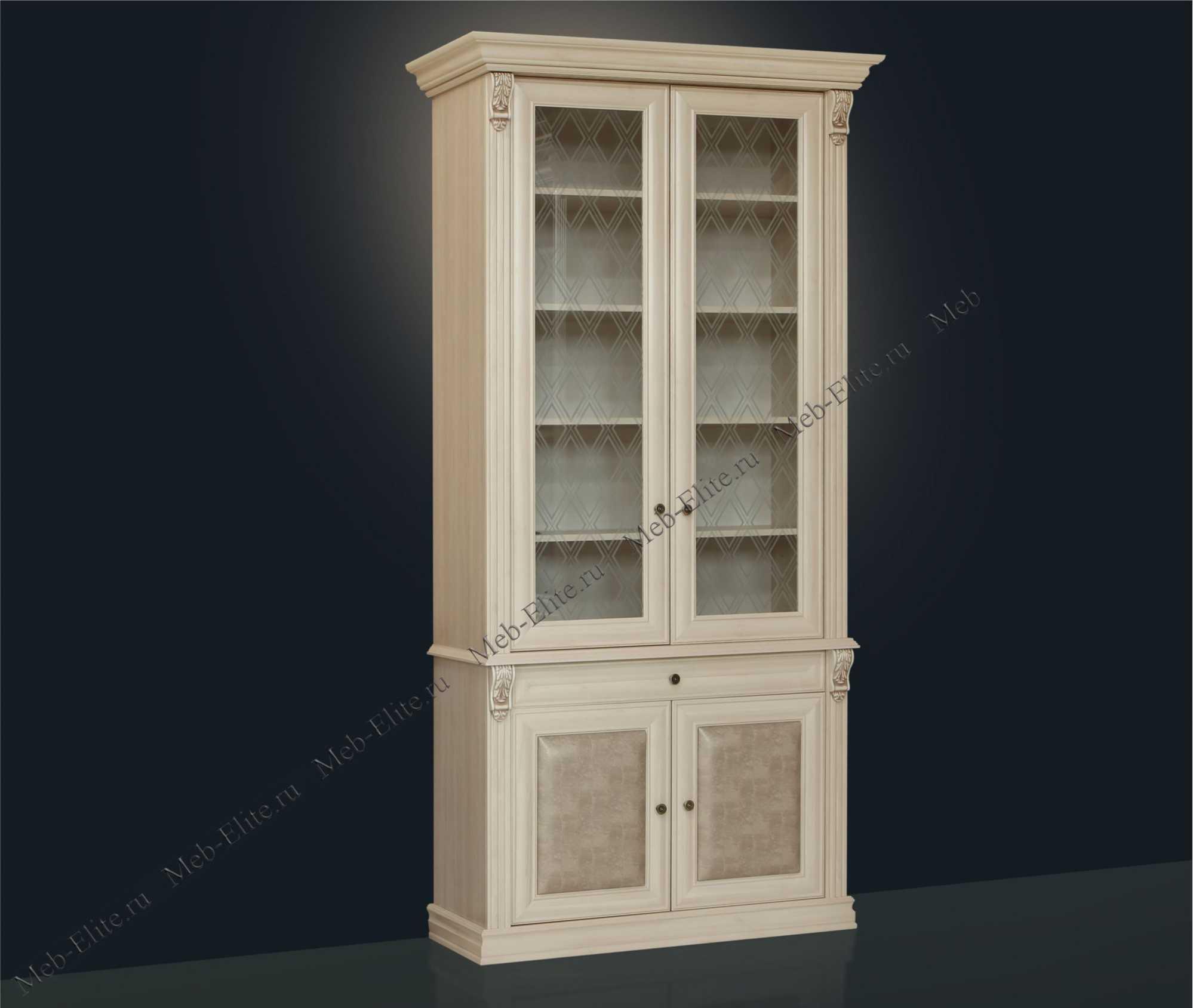 Благо книжный шкаф 2 дверный 5.15-6 - купить со склада в инт.