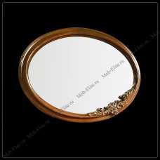Карпентер 230-1 зеркало овальное орех