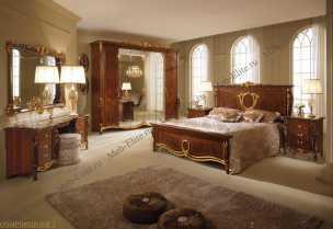 Донателло спальня орех глянец
