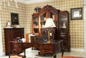 Луи 15 (Louis XV) кабинет орех