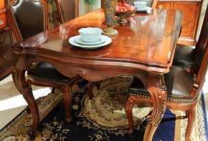 Луи 15 (Louis XV) стол обеденный (158х98) орех