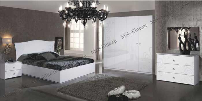 Европа 9 спальня белый
