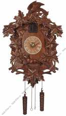 """Настенные часы с кукушкой """"Орел и лисица"""" СQ-067"""